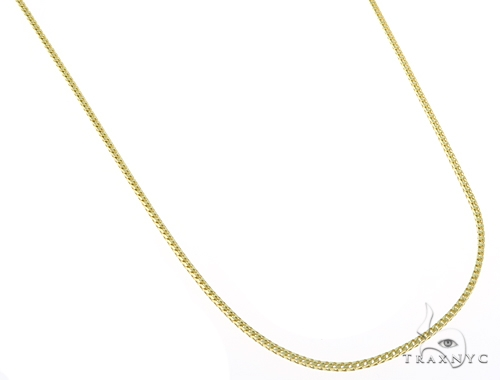 14k Yellow Gold Franco Chain 20 Inches 1mm 4.5 Grams 44971 Gold