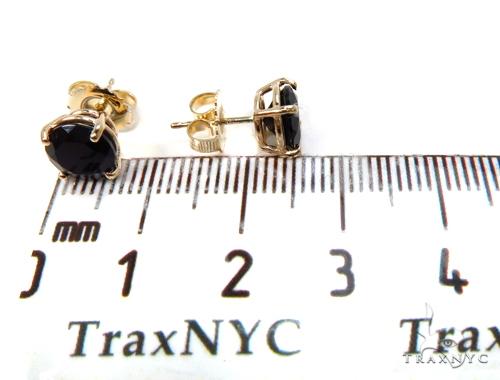14k Yellow Gold Onyx Necklace & Earrings Set 40029 Gemstone