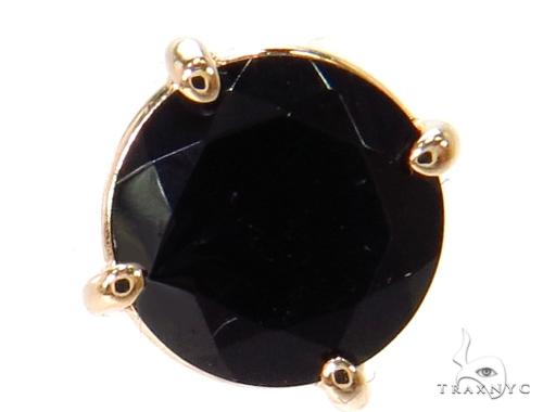 14k Yellow Gold Onyx Earrings 40026 Stone