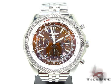 Breitling Bentley Special Edition Copper Dial Watch 669 - A2536212/Q502 Breitling