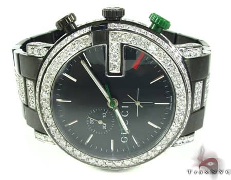Iced Out Gucci Watch Gucci