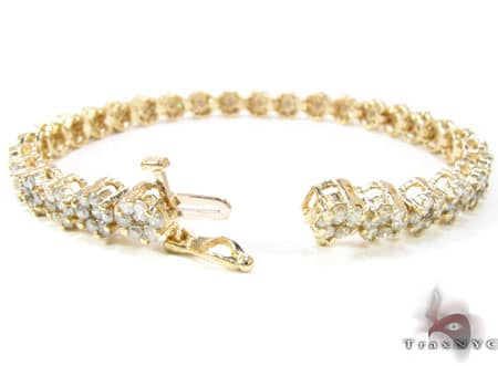 Y.G Flower Bracelet Diamond