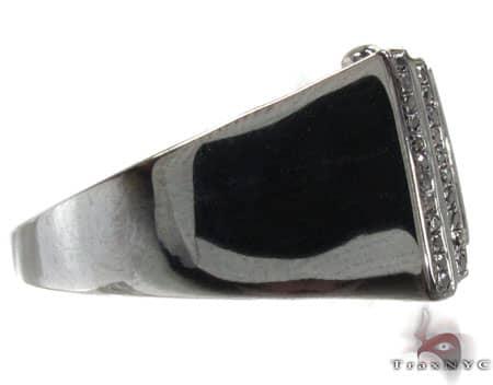 BG Black Diamond Bowtie Ring Stone
