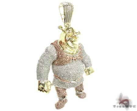 Shrek Pendant Metal