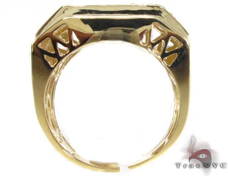 YG Canary Colossal Ring Stone