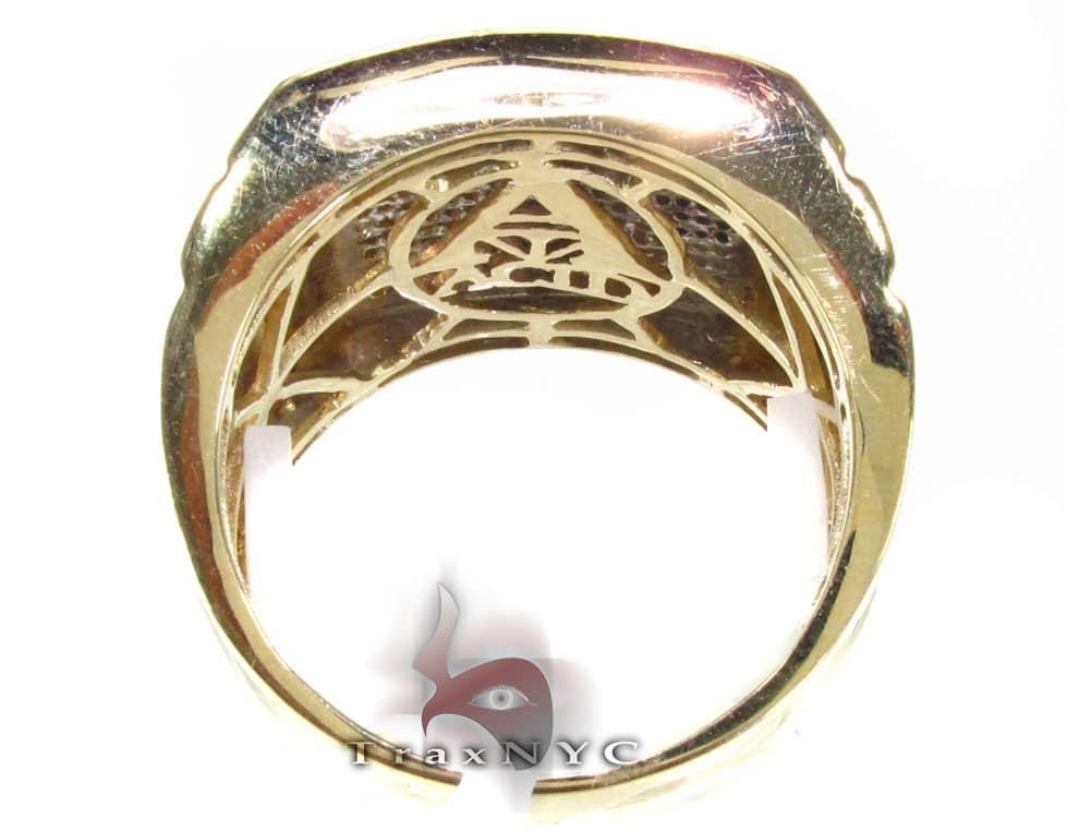 Tri Color Knight Ring Stone