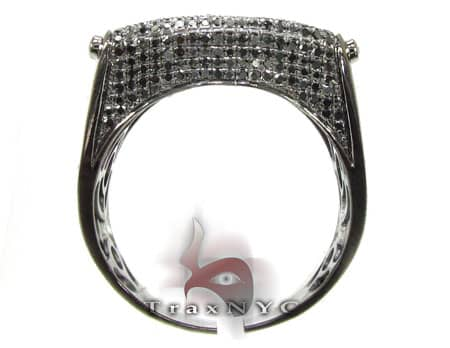 Black Diamond Harp Ring Stone