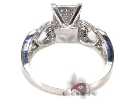 Concave Ring Engagement