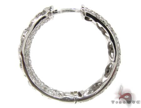 WG Fiji Hoop Earrings 4 Stone