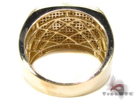 YG Black Wrap Ring Stone