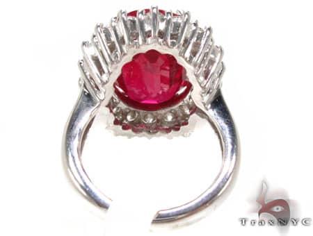 Ruby Island Ring 7 Anniversary/Fashion