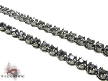 Black Diamond Chain 34 Inches, 67 Grams Diamond
