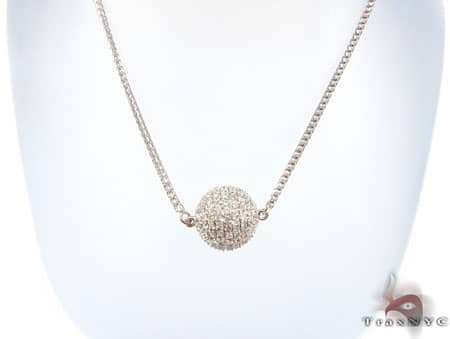 Ice Ball Necklace 2 Diamond
