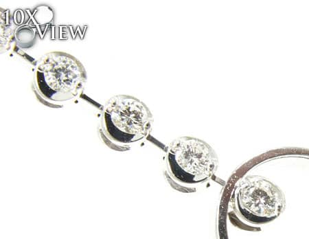 Rain Drop Earrings Stone