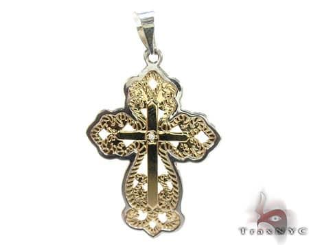 Bubbly Ciaro Cross Crucifix Diamond