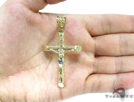 Slim Gold Cross Gold