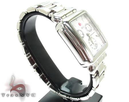 Michele Deco 3 Link Bracelet Watch MWW06A000457 Michele Diamond Watches