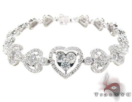 Hearts Galore Bracelet Diamond
