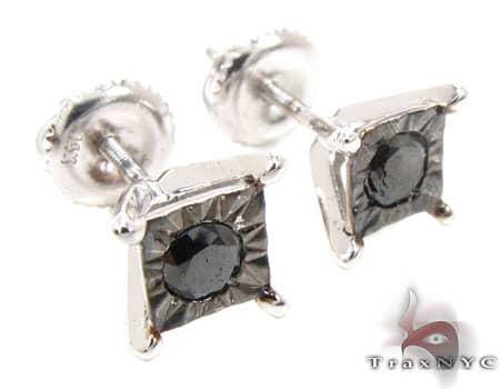 White Gold Kingdom Earrings 2 Stone