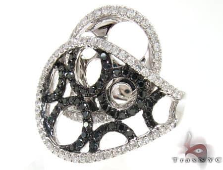 Black Circles Ring Anniversary/Fashion