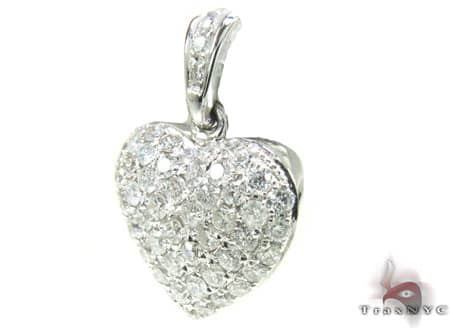 Mini Heart Pendant Stone