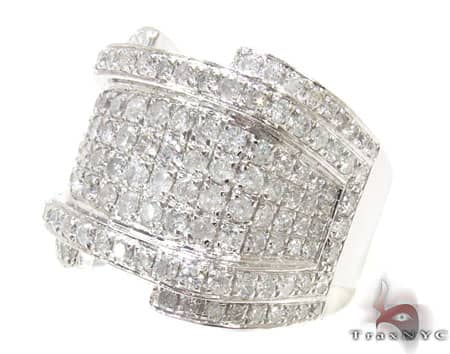 White Gold XL RSVP Ring Stone