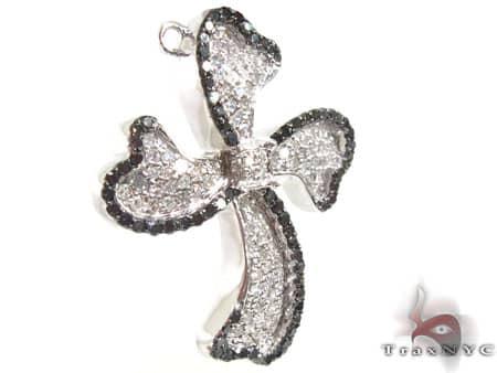 Black & White Swivel Cross Style