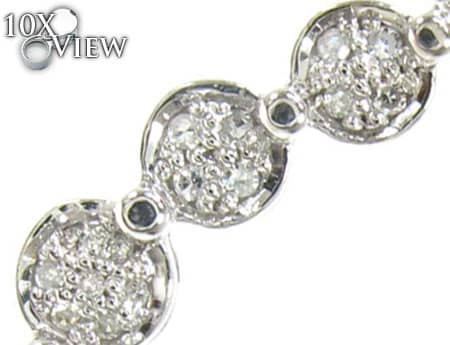 Diamond Trail Earrings Stone