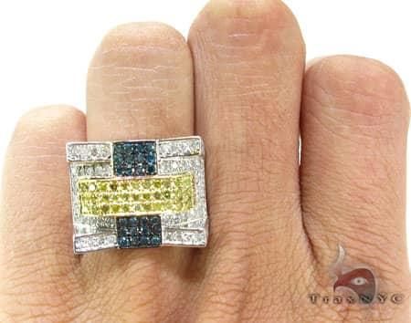 Sunny Multi-Color Ring 2 Stone