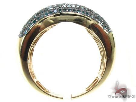 Blue Diamond Bone Ring Stone