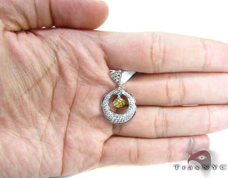Canary Charm Pendant Stone