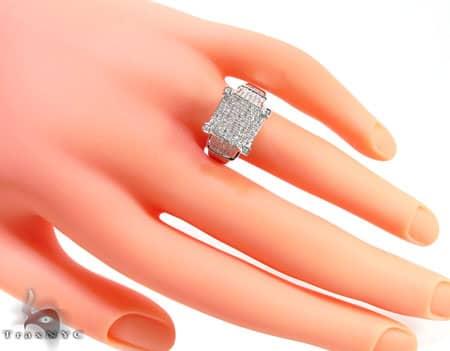 Pave Bonnet Ring Engagement