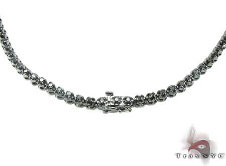 Black Diamond Chain 30 Inches, 4mm, 54 Grams Diamond
