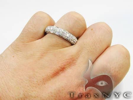 Mens Diamond Wedding Ring 1851 Stone