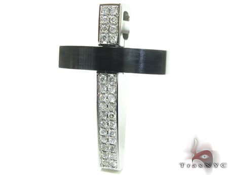 Blackjack Diamond Cross Crucifix Diamond