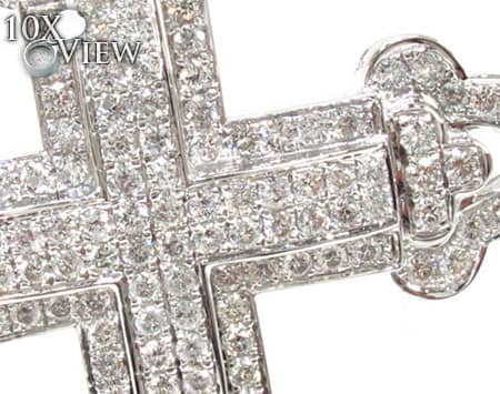 Small Theatrical Cross Diamond