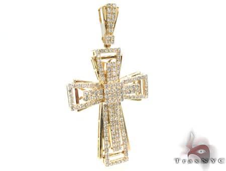 Yellow Gold Benny Cross 2 18626 Diamond
