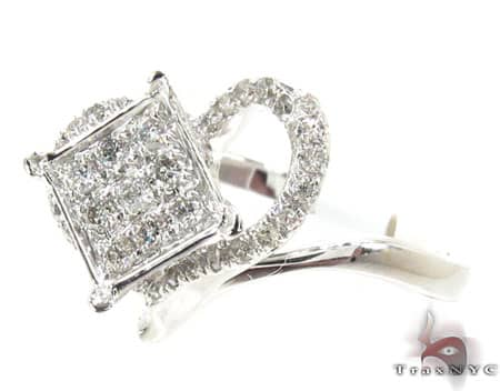 White Gold Absolute Ring Anniversary/Fashion