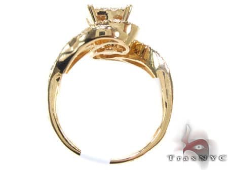 Yellow Gold Jungle Ring Anniversary/Fashion