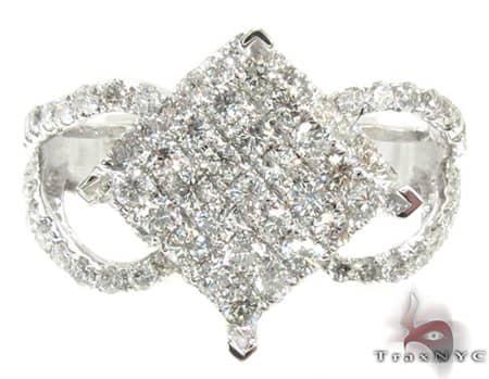 White Gold Bora Bora Ring Anniversary/Fashion