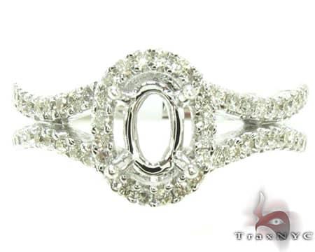 Erica's Semi Mount Ring Engagement