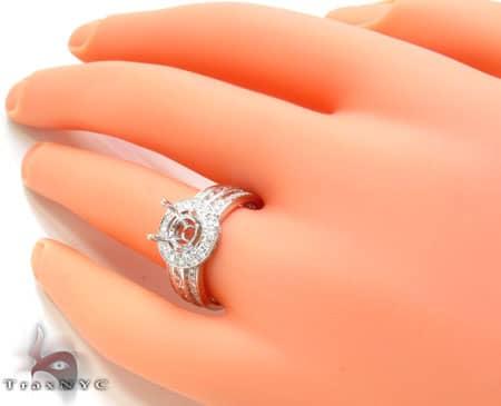 Ladies Semi Mount Ring 18949 Engagement