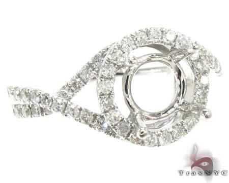 Ladies Semi Mount Ring 18951 Engagement
