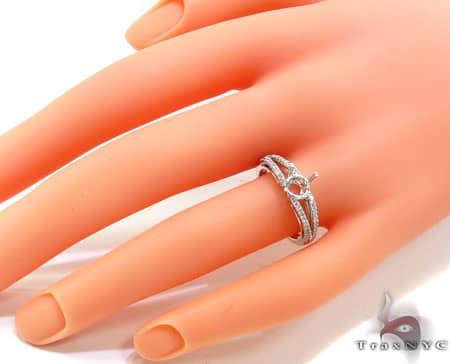 Ladies Semi Mount Ring 18953 Engagement