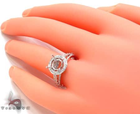 Ladies Semi Mount Ring 18954 Engagement