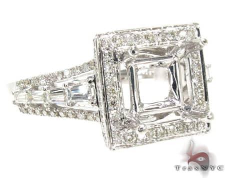 Ladies Semi Mount Ring 18955 Engagement