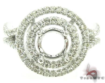 Ladies Semi Mount Ring 18958 Engagement
