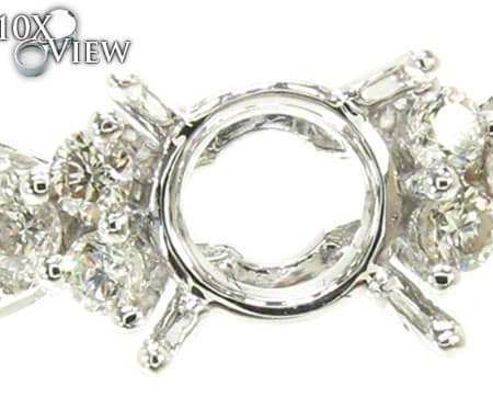 Ladies Semi Mount Ring 18959 Engagement