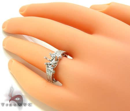Ladies Semi Mount Ring 18972 Engagement