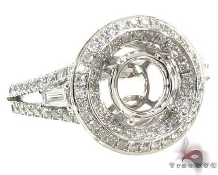 Ladies Semi Mount Ring 18999 Engagement